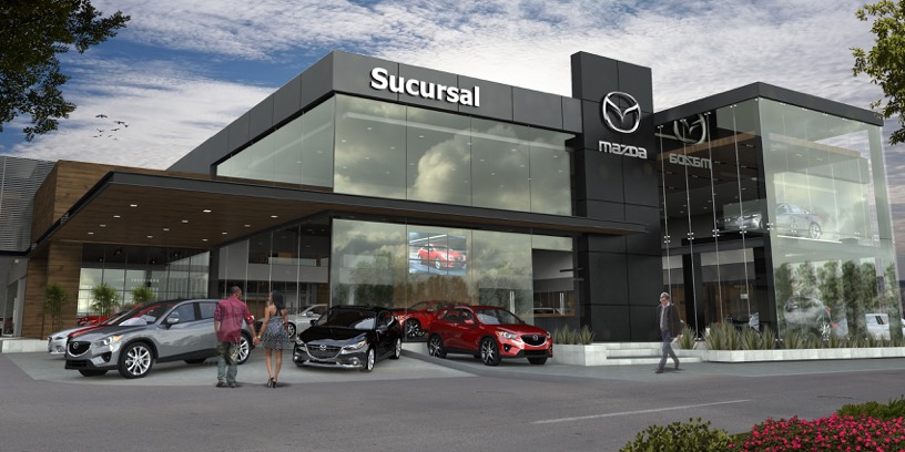 Mazda inaugura primera distribuidora con nueva imagen