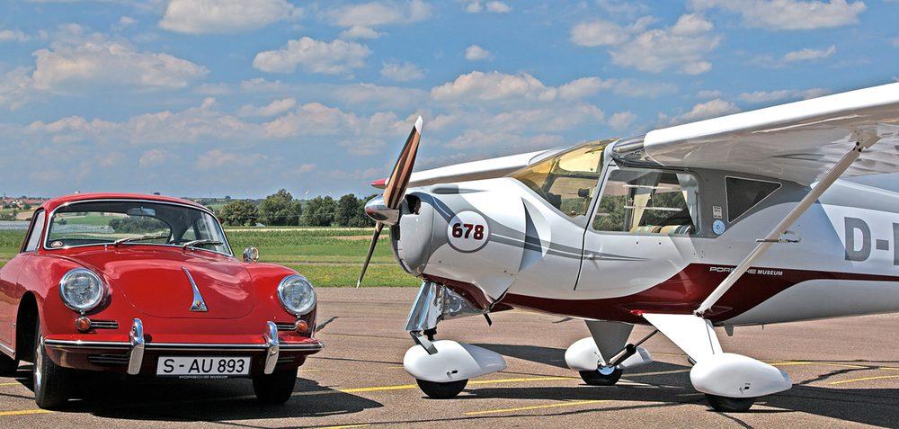 Porsche también hace motores para aviones