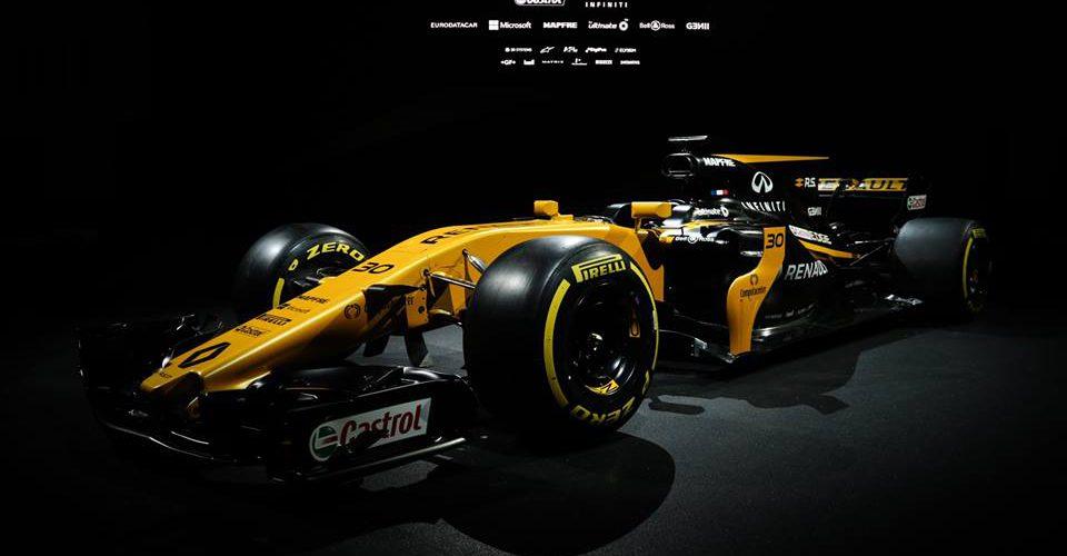 Renault Sport F1 presenta su bólido 2017