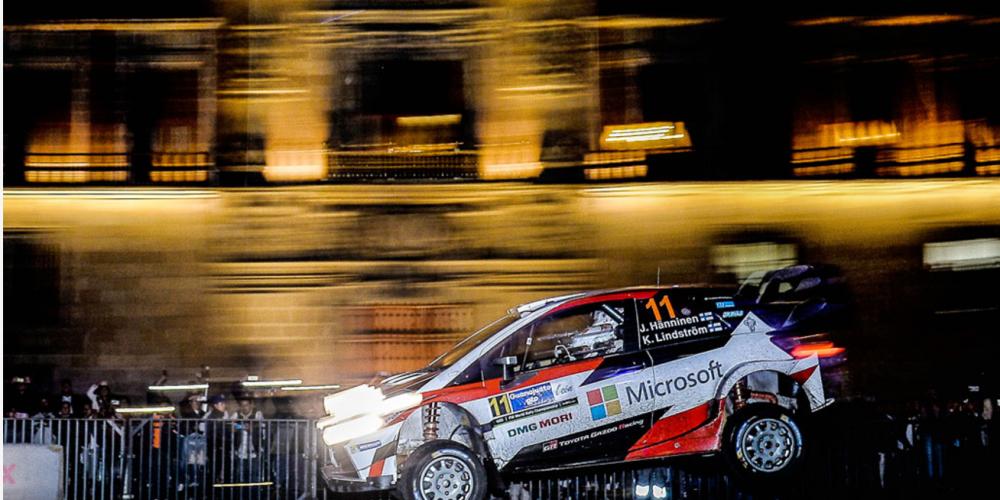 Rally México 2017, fiesta de motores en el Zócalo, pero…
