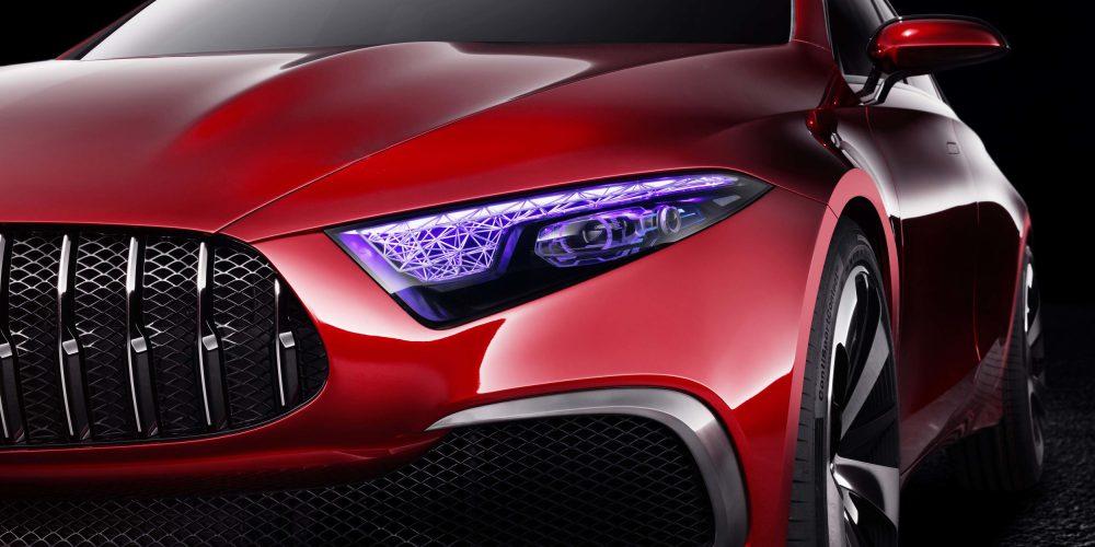Auto Show de Shanghai: Mercedes-Benz Concept A Sedan