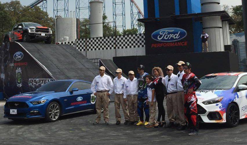 Ford Performance extiende participación con Six Flags México
