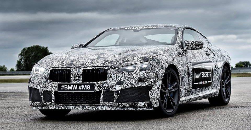 BMW M8, camuflado, está por llegar…