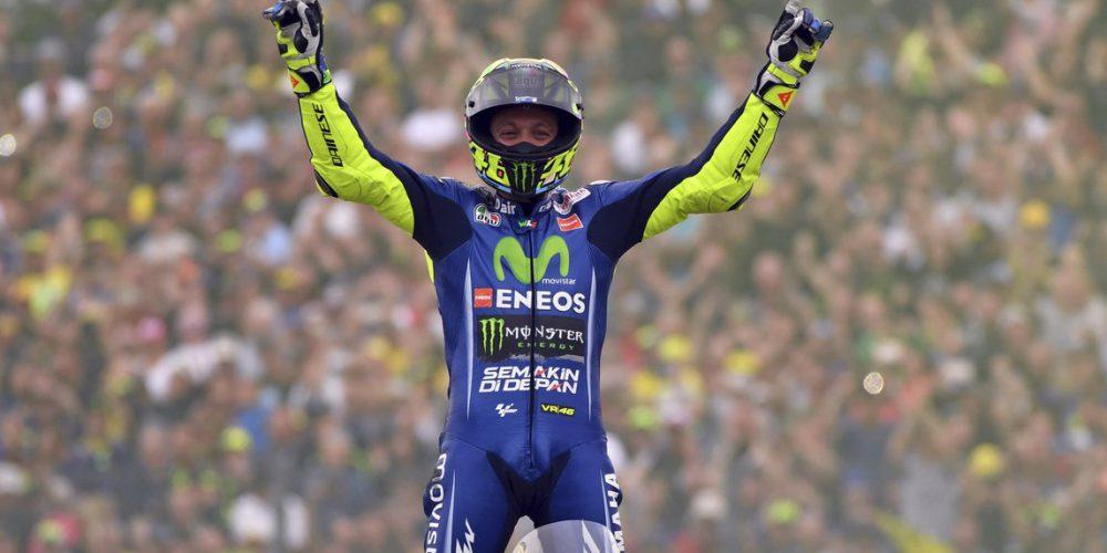 Rossi vuelve a la victoria en la catedral del motociclismo