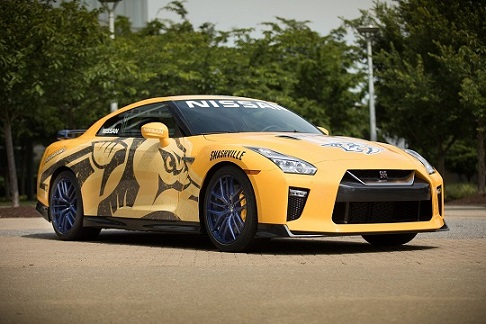 Nissan GT-R 2017, por una buena causa