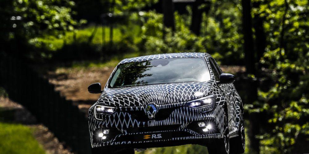 Nuevo Renault Megane R.S. con tracción total 4CONTROL