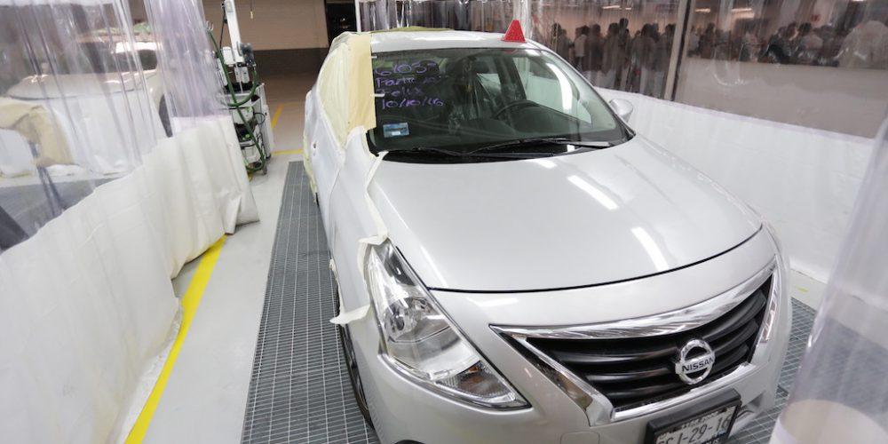 Nissan Mexicana, con uno de los mejores Talleres de Pintura en América Latina