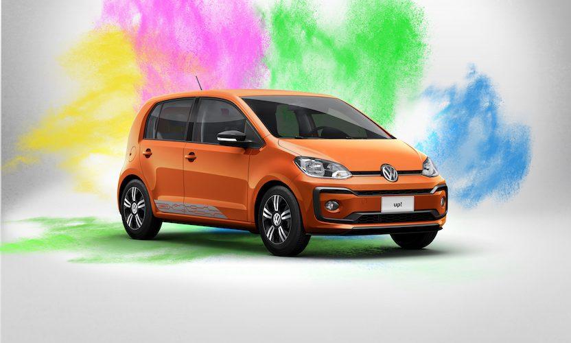 VW up! lleno de colores… nueva versión en México