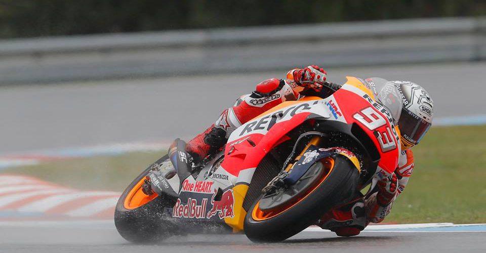 Vuelve MotoGP con Márquez en la pole