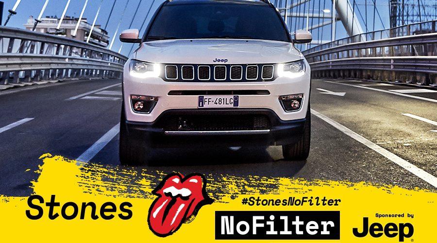 "Jeep Compass patrocinador oficial de la gira europea de ""The Rolling Stones"""