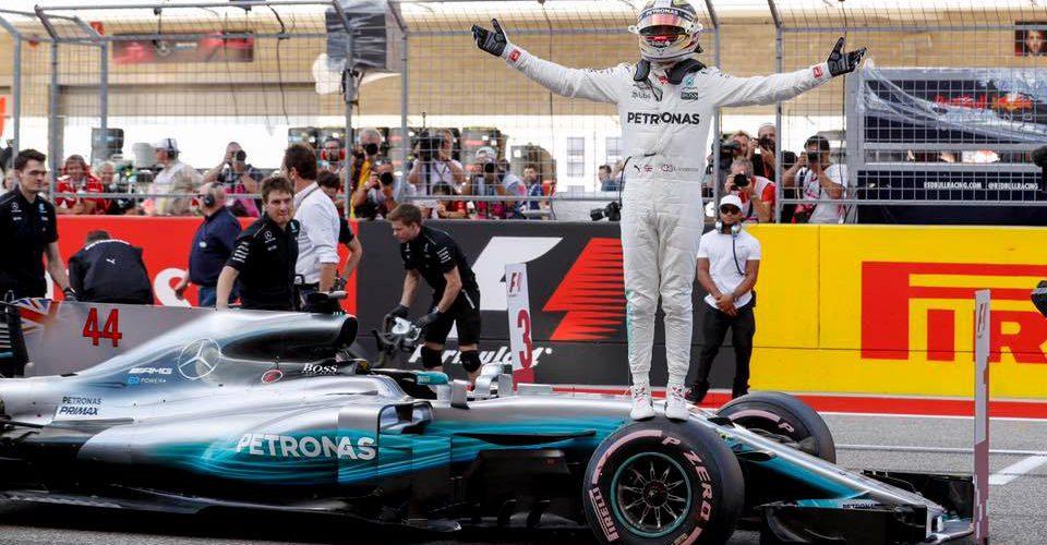 Hamilton y Vettel arrancan desde la primera fila en Austin