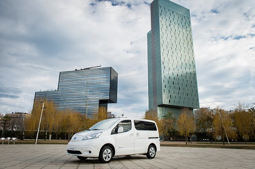 Nissan e-NV200 expande su rango de autonomía