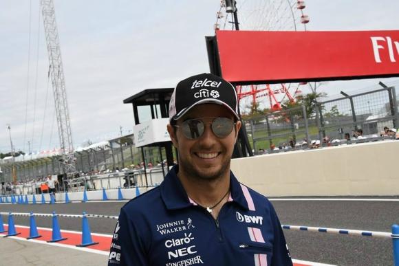 Sergio Pérez listo para enfrentar Texas previo al Gran Premio de México