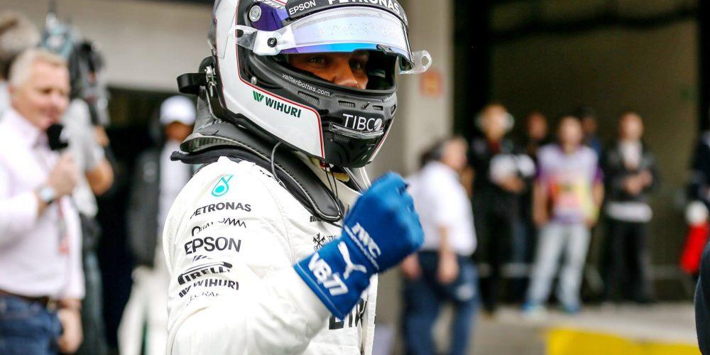 Bottas tras el subcampeonato con la pole en Interlagos