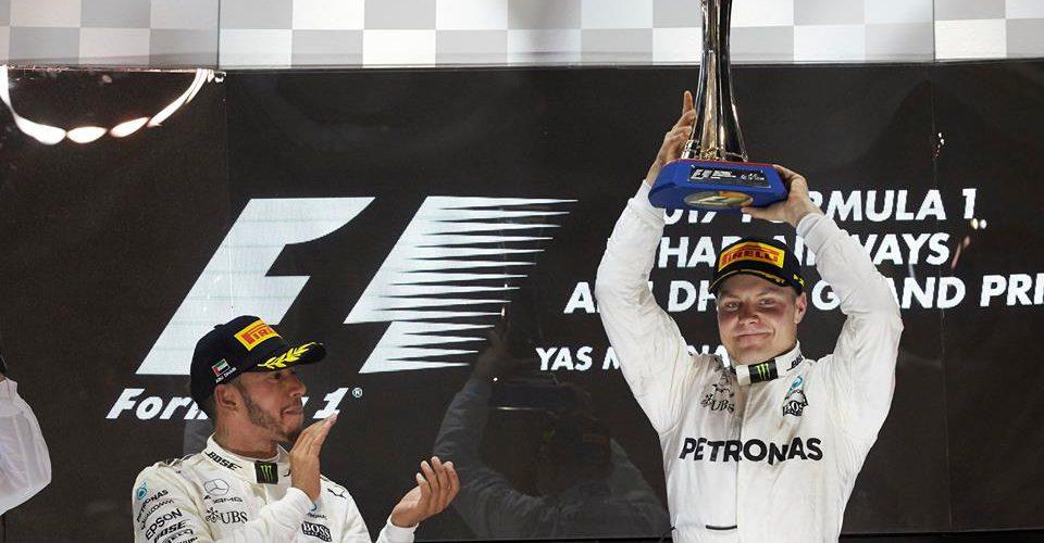 Bottas se impuso en la última carrera del año de la F1