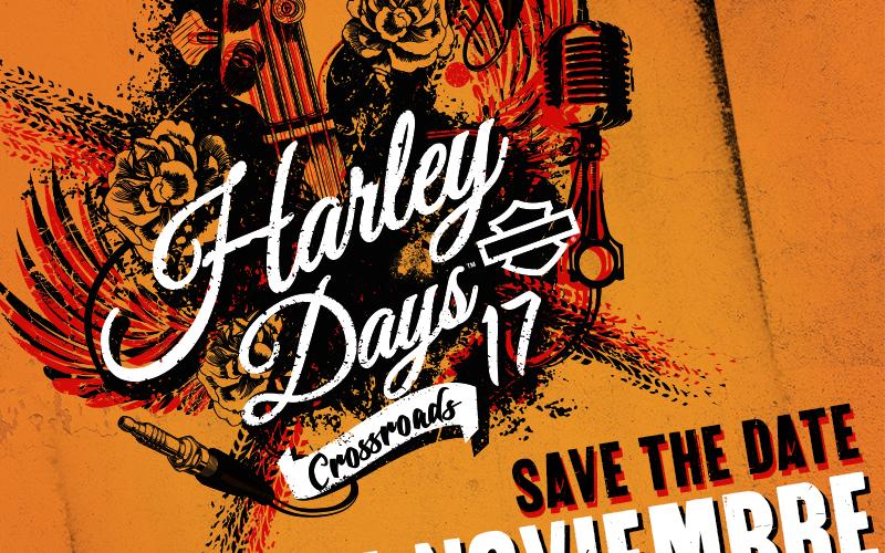 ¿Listo para rodar con Harley-Davidson? Anota en tu agenda el 25 de noviembre