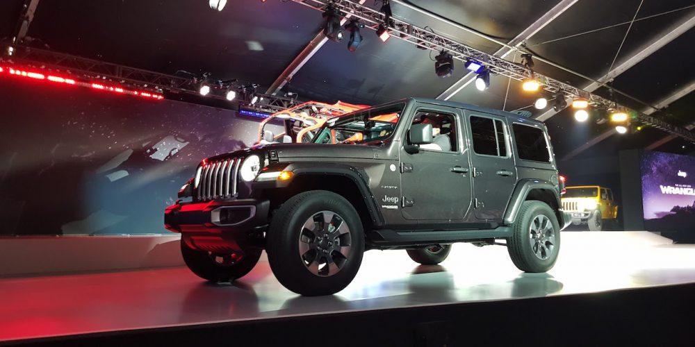Autoshow de Los Ángeles 2017, Jeep Wrangler 2018, listo para el mundo