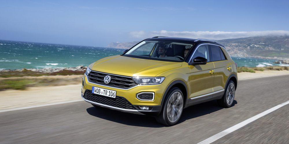Volkswagen T-Roc 2018, lanzamiento internacional