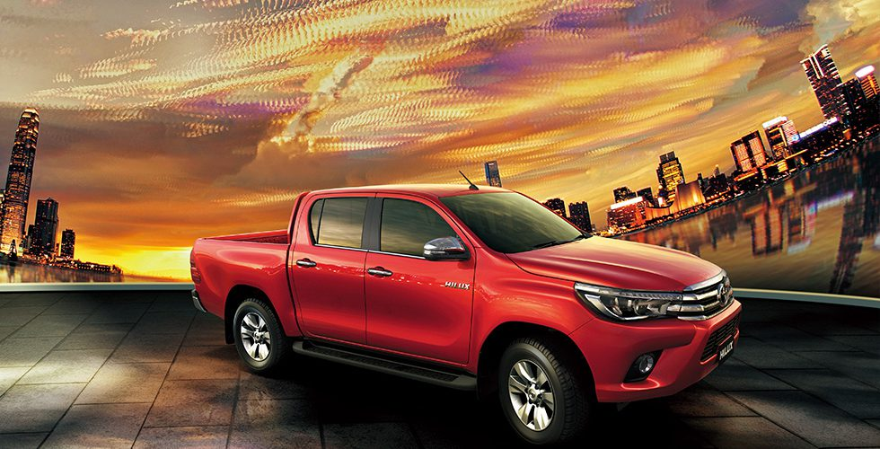 Toyota lanza para México la Pick-Up Hilux a diésel 2018