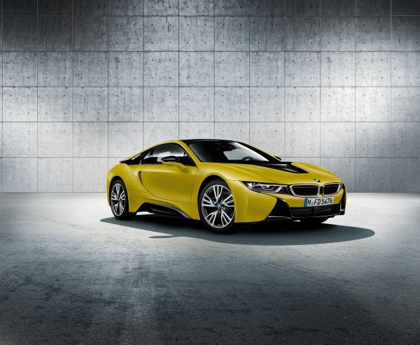 BMW i8 Protonic Frozen Yellow Edition ya en nuestro país
