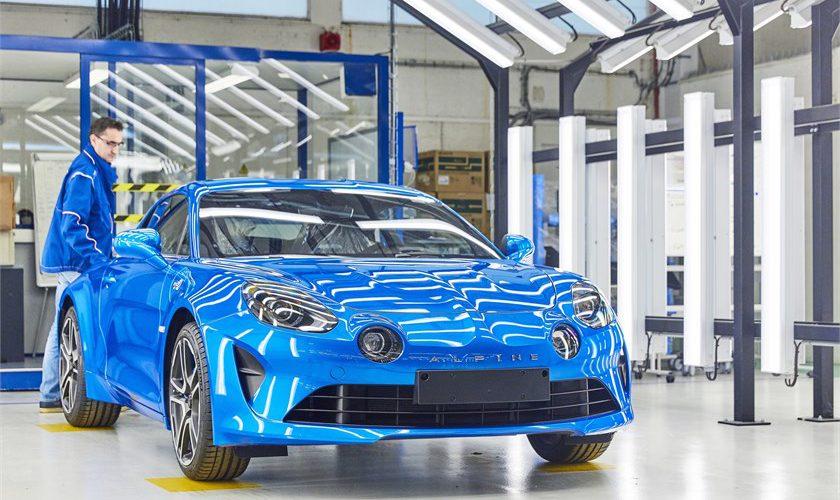 El Grupo Renault inaugura la línea de producción del nuevo Alpine A110