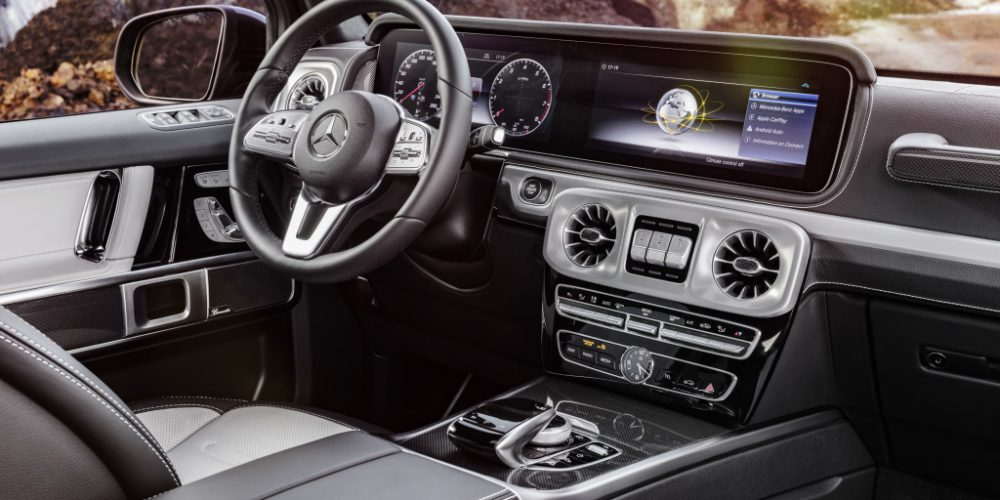 Mercedes-Benz Clase G, así es el nuevo interior