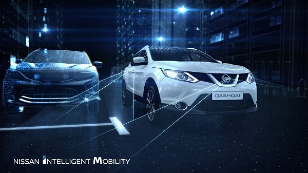 El Nissan Intelligent Mobility en acción