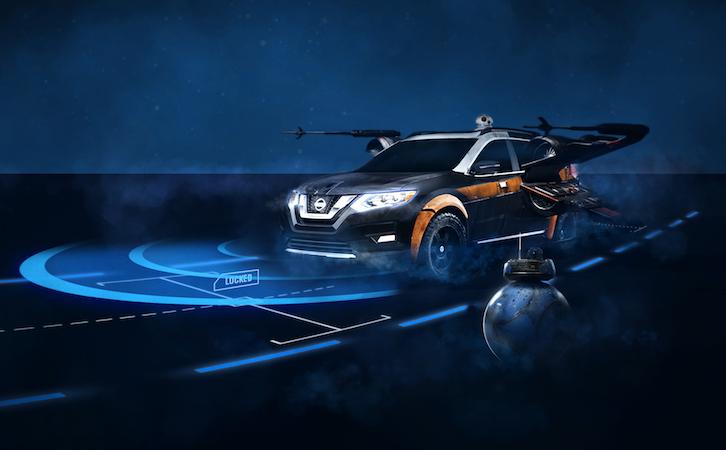 Se conduce solo en el tráfico: ¡Nissan ProPilot, como de Star Wars!