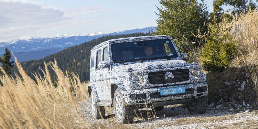 Mercedes-Benz nos enseña un poco más del nuevo Clase G