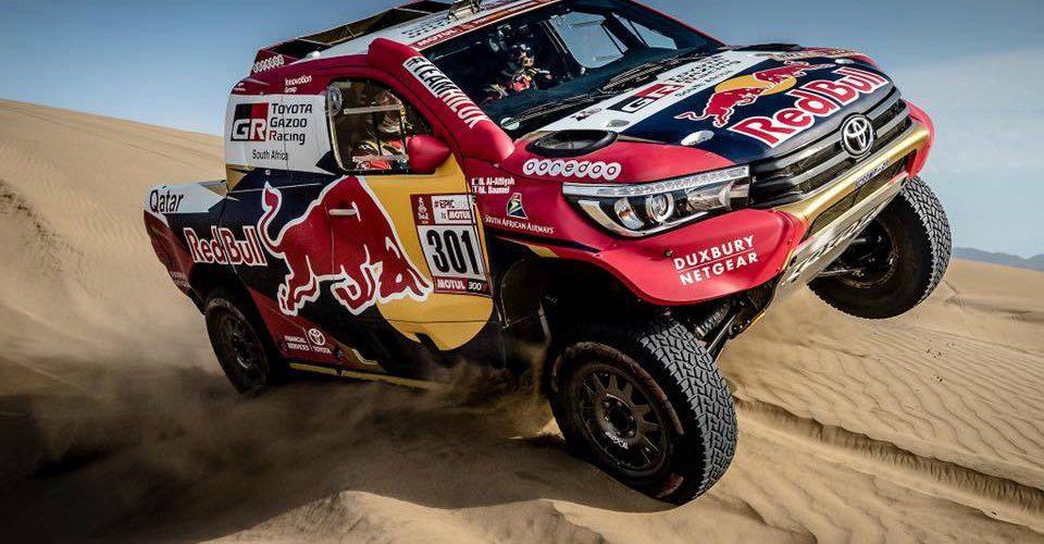 Los coches favoritos a ganar el Dakar 2018