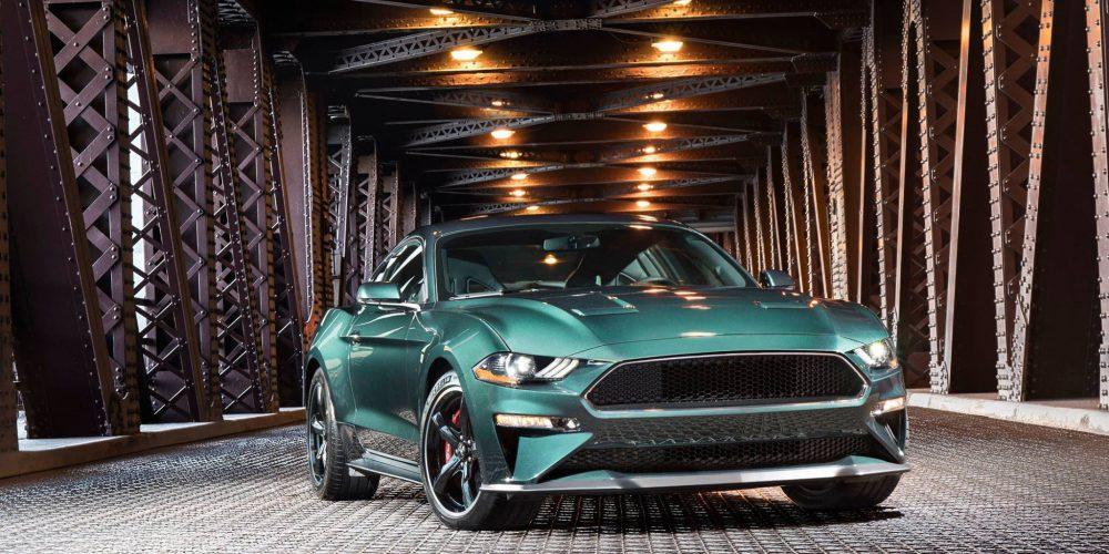 Ford Mustang Bullitt, Auto Show de Detroit