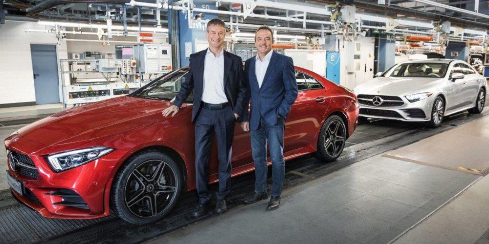 La planta de Mercedes-Benz en Sindelfingen inicia la producción del nuevo CLS