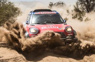 Cuatro de los siete equipos MINI completaron el Rally Dakar 2018