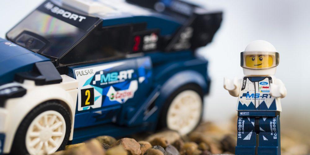 ¿Listos para el WRC? Ford ya lo está con LEGO