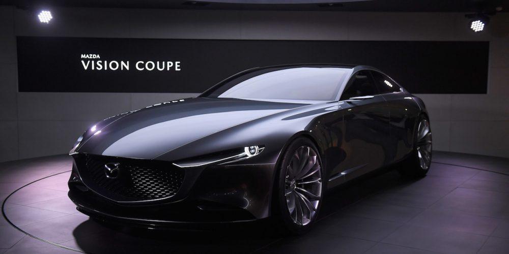 Mazda Vision Coupe nombrado el más hermoso auto concepto en Francia