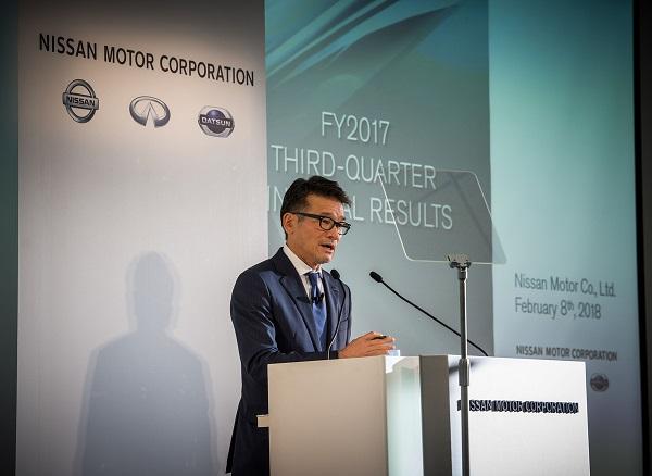 Nissan comparte sus resultados financieros