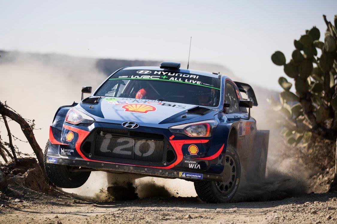 Hyundai Motorsport inicia ganando el Rally México
