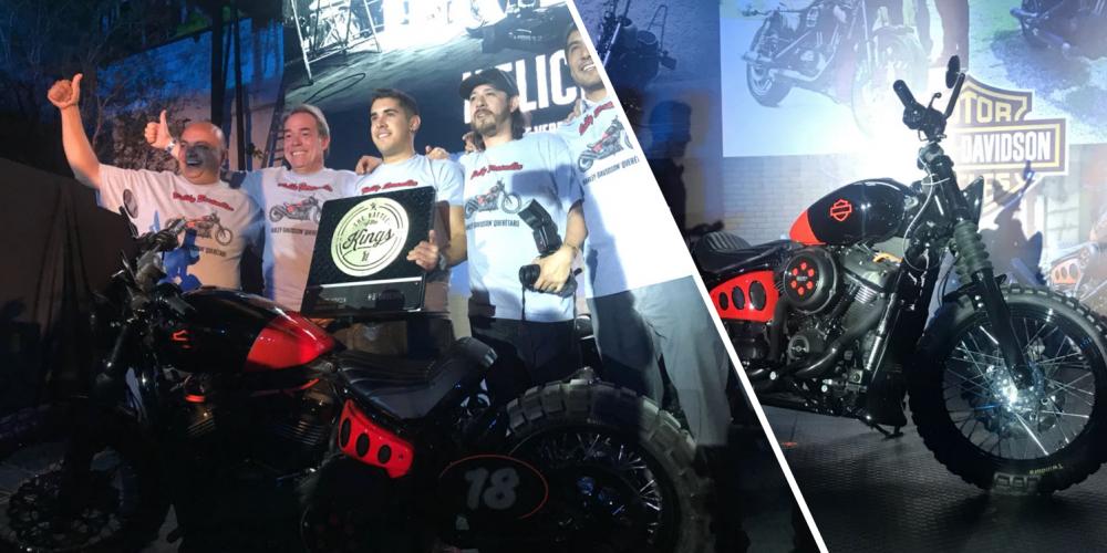 """Harley Davidson: La moto que representará a Latinoamérica en """"Battle of the Kings"""" ha sido elegida"""