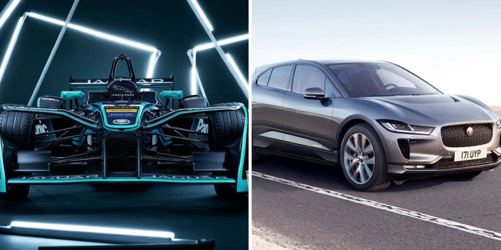 Jaguar presente en la Fórmula E con el nuevo I-PACE y el I-TYPE 2