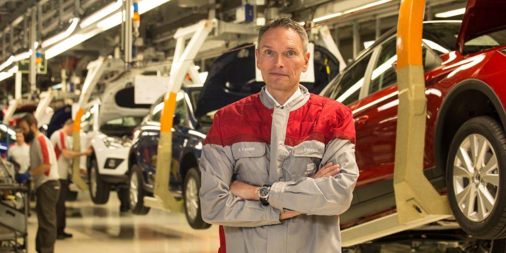 En SEAT España, el nuevo director de la planta de Martorell se llama Dr. Rainer Fessel