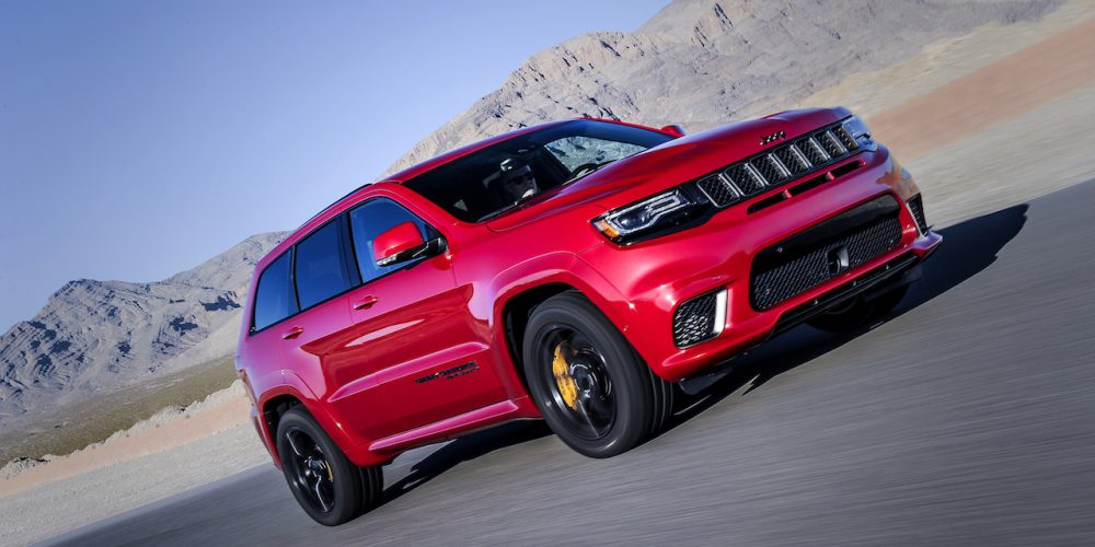 Jeep Grand Cherokee Trackhawk 2018 ya disponible en México