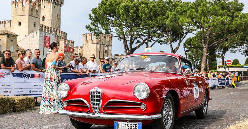 Alfa Romeo celebra el 90 aniversario de su primera victoria en la Mille Miglia