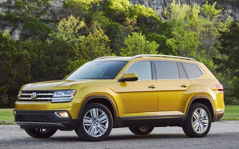 Volkswagen Atlas premiado como Mejor SUV para salir de paseo en EE. UU.