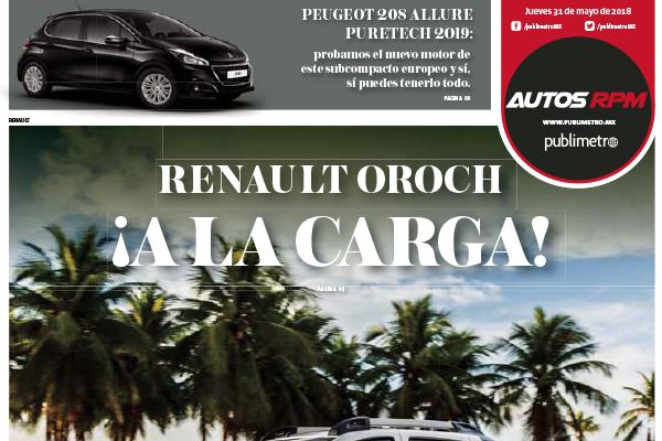 Renault Oroch ¡A la carga!