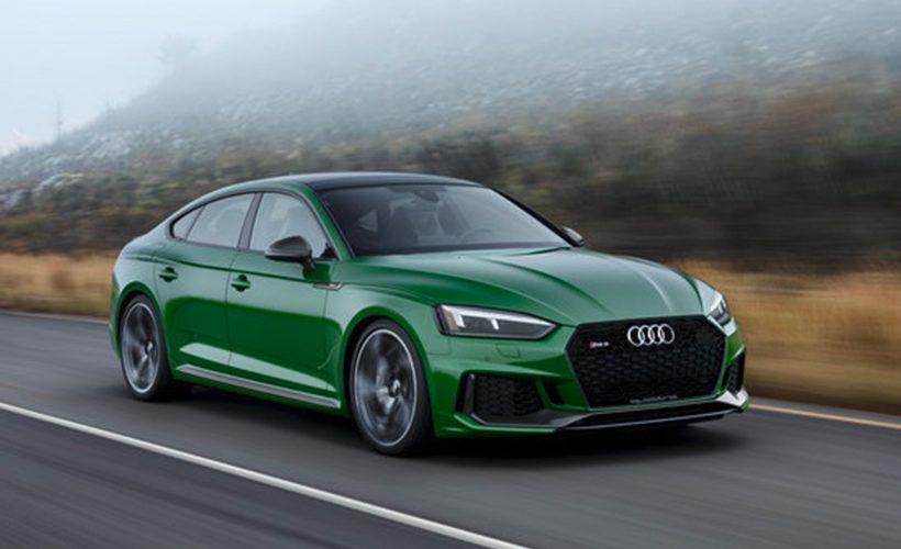 Audi RS 5 Sportback 2019, los cuatro aros lucen espectaculares