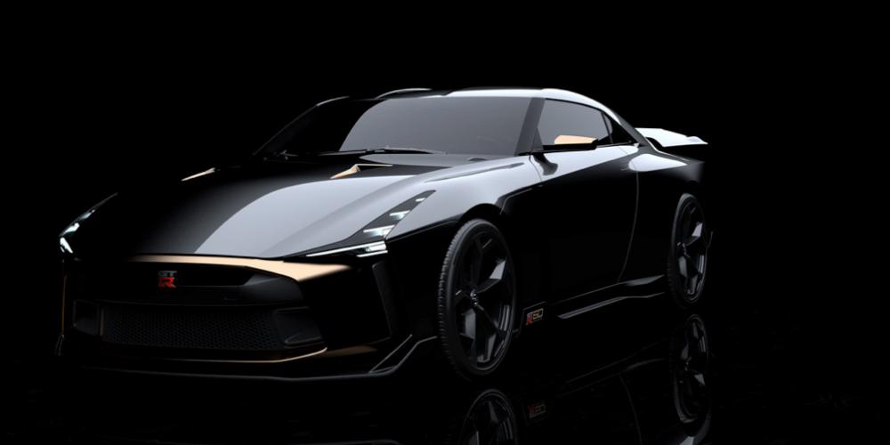 Nissan GT-R50 por Italdesign celebra los 50 años de Godzilla