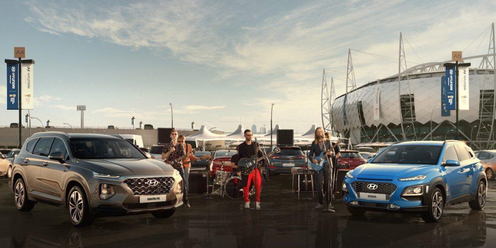 A Maroon 5 le gustan los autos y ahora se une a Hyundai y el fútbol