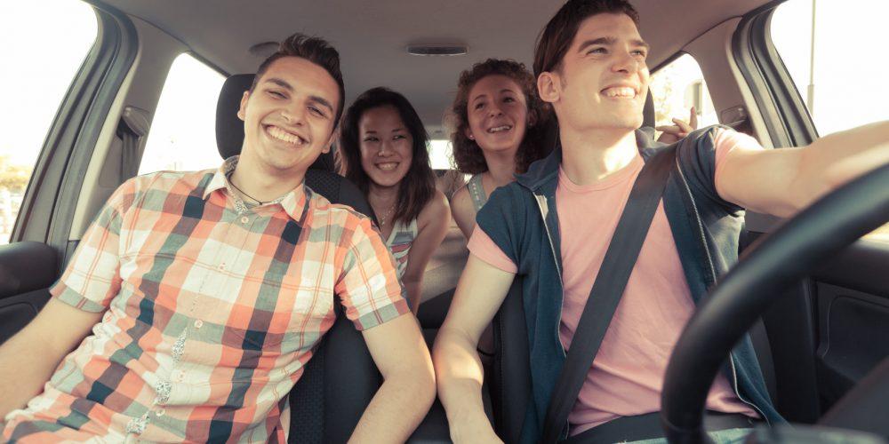 Si haces carpooling, estarías ahorrando hasta 75% del costo de combustible