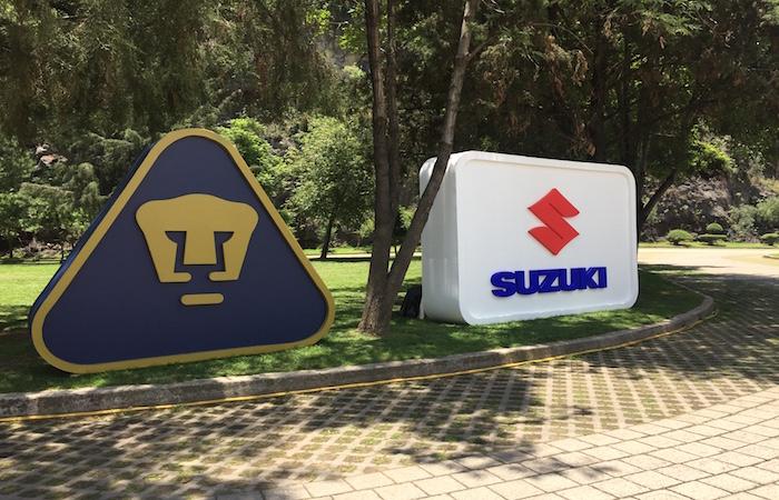 Suzuki y Pumas, un ¡GOYA! de unión