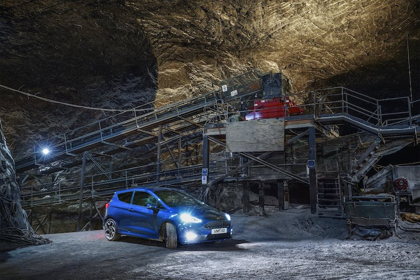Fiesta ST Takes on Great European Driving Road You Never Heard of – 400 Metres Underground
